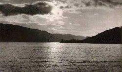Sunset over Urquhart Bay, Loch Ness